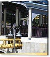 Six Flags America - Batwing Roller Coaster - 12121 Acrylic Print