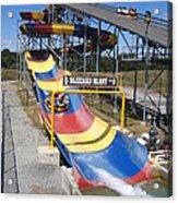 Six Flags America - Blizzard Blast - 12121 Acrylic Print