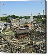 Six Flags America - Wild One Roller Coaster - 121210 Acrylic Print