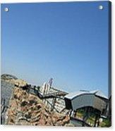 Six Flags America - Wild One Roller Coaster - 12125 Acrylic Print