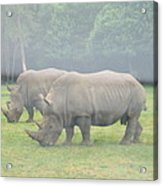 Six Flags Great Adventure - Animal Park - 121219 Acrylic Print