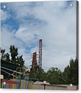 Six Flags Magic Mountain - 12122 Acrylic Print
