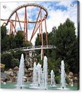Six Flags Magic Mountain - 12124 Acrylic Print