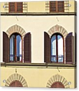 Six Windows Of Florence Acrylic Print