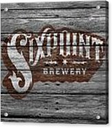 Sixpoint Brewery Acrylic Print