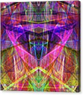 Sixth Sense Ap130511-22-20130616 Square Acrylic Print by Wingsdomain Art and Photography