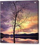 Skaha Lake On A Saturday Morning Acrylic Print