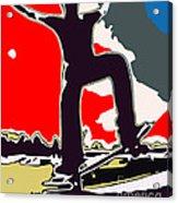 Skateboarder Acrylic Print