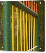 Skc 3266 Colorful Gate Acrylic Print