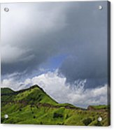 Skc 3548 Over The Western Ghats Acrylic Print