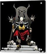 Skeletal Noble Acrylic Print