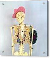 Skeleton. Acrylic Print