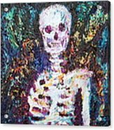 Skeleton With One Arm Acrylic Print