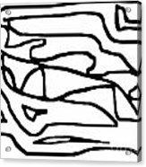 Sketch 15 Acrylic Print