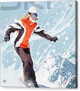 Ski 2 Acrylic Print