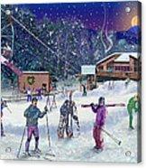 Ski Area Campton Mountain Acrylic Print