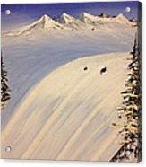 Ski Trip Acrylic Print