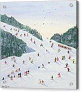 Ski Vening Acrylic Print