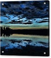 Skies Of The Great North Acrylic Print