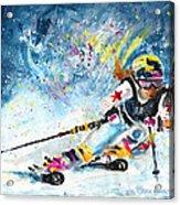 Skiing 03 Acrylic Print