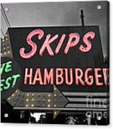 Skips Hamburgers II Acrylic Print