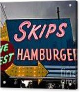 Skips Hamburgers Acrylic Print