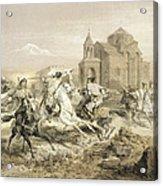 Skirmish Of Persians And Kurds Acrylic Print