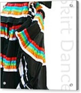 Skirt Dance Acrylic Print