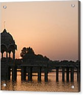 Skn 1356 Good Morning Jaisalmer Acrylic Print