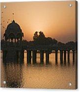Skn 1368 Sunrise Flight Acrylic Print