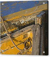Skn 1394 Dilapidated Boats Acrylic Print