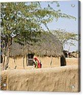Skn 1401 Rural Background Acrylic Print