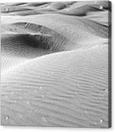 Skn 1411 Soothing Sanddunes Acrylic Print