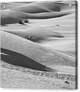 Skn 1432 Slopes And Curves Acrylic Print