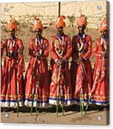 Skn 1508 Folk Dancers Acrylic Print