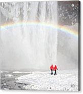 Skogafoss Waterfall, Iceland Acrylic Print