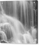 Skc 0218 Soothing Waterfall Acrylic Print