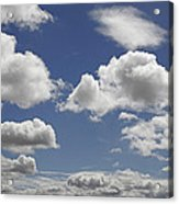 Skc 0328 The June Clouds Acrylic Print