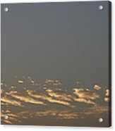 Skc 0352 Rythmic Clouds Acrylic Print
