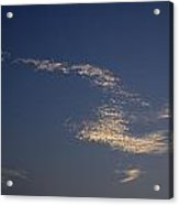 Skc 0353 Cloud In Flight Acrylic Print