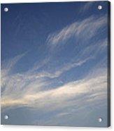 Skc 0356 Sky Sketching Acrylic Print