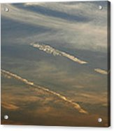 Skc 0365 Cloud Tracks Acrylic Print