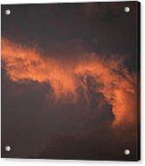 Skc 0371 Sunset Cloud Color Acrylic Print