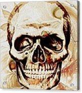 Skull Acrylic Print by Anastasiya Malakhova