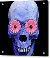 Skull Art - Day Of The Dead 1 Acrylic Print