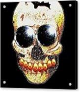 Skull Art In A Surrealism Definition Acrylic Print