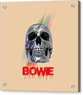 Skull Bowie  Acrylic Print