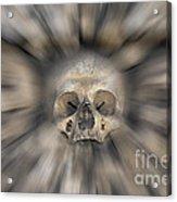 Skull - Fear And Trembling  Acrylic Print