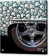Skull Patterns Acrylic Print