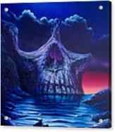 Skull Point Acrylic Print